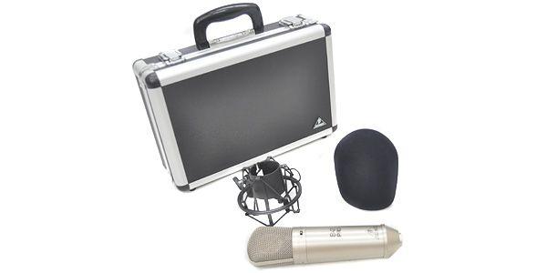 BEHRINGER  B-2 PRO コンデンサーマイク 音質チェック