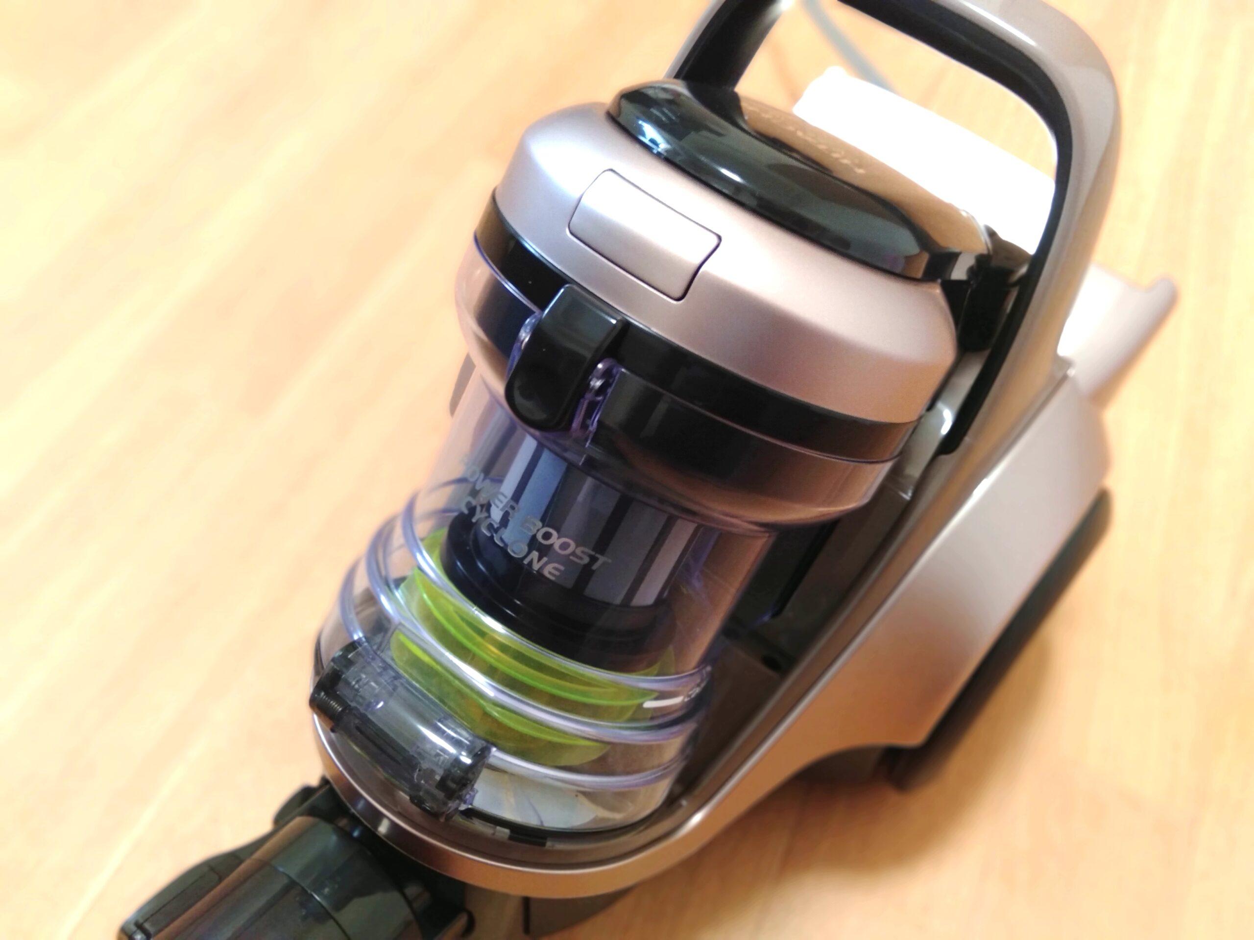 【レビュー】日立 掃除機 パワーブースト サイクロン式 CV-SF300