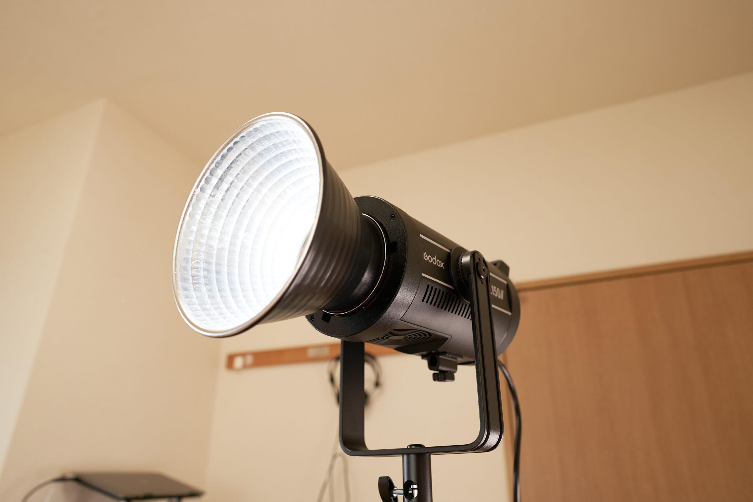 撮影用ライト【GODOX SL150WII】レビュー&テスト